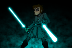 The Gray Jedi by brothersdude