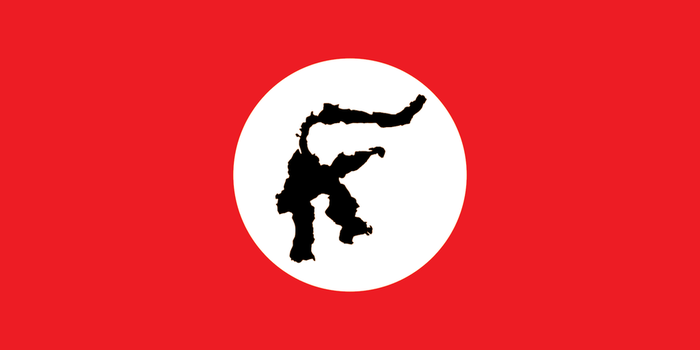 Nazi Sulawesi Flag by 3D4D