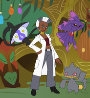 Pokemon Professor Zecora by SelenaEde