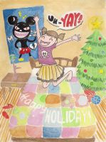 Happy Holiday by artemiscrow