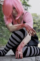 Lucy - In blood by CreativeCupcake