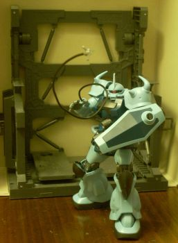 Gouf Custom Heat Whip Front by NihonFreakMB