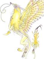 Light Dragon by ChaoticBlueDragon