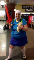 Adventure Time Cosplay Outfit by Starsinger1