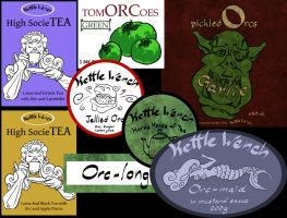 Orc Labels by Quilsnap