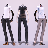 TDA Fitted Classy Outfit Download! by NEPHNASHINE-P