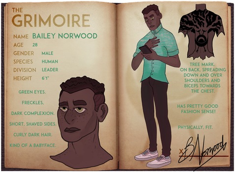 Bailey Norwood - The Grimoire by 9w0