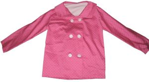 Pink Polka Dot Jacket by caturs