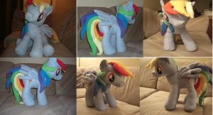 Making of Rainbow Dash Part 4 by darthmarth3030
