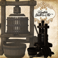 Wine Press by Just-A-Little-Knotty