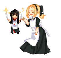 [ASK] Chef Alma and Sous Chef Kanda by Mojomito