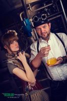 Steampunk Couple by KittyTheCat-Stock