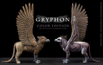 Gryphon Fantasy Anatomy Model - Color Edition by emilySculpts