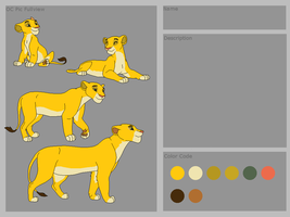 Free Lion adopt SOLD by Silvertail108