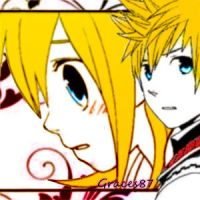 Roxas and Namine Calling your name by Graces87