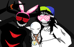 Creepypasta Party Pic by Scarygermangirl