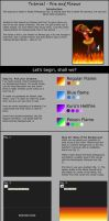 Tutorial PS - Fire and Flames by Saruke