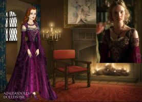 Katherine Howard- Arabian Night Dress by EriksAngelOfMusic22