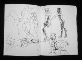 Life Drawing Nico5 by NicolasSiner
