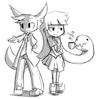 Rudy and Medusa by Talking-TadPol