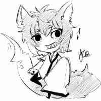 Chibi sketch Comm 3 by Yu-Tanni