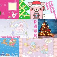 Pack Wallpapers Kawaii Navidad by DafyPink