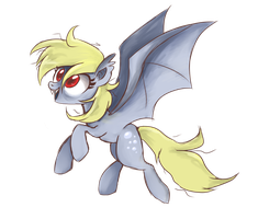 Derpy the Bat by Mirta-Riga