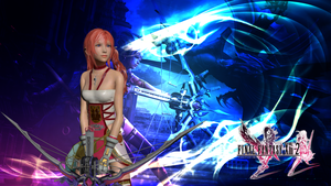 Final Fantasy XIIII-2 Wallpaper - Serah Farron by SilverMoonCrystal