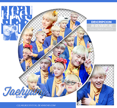 #083 Pack PNG   Taehyung   BTS by clearlikecrystal