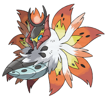 Mega Volcarona (FAN-MADE) by pokeluka