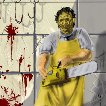 Leatherface by Squirrel-Studios-skw