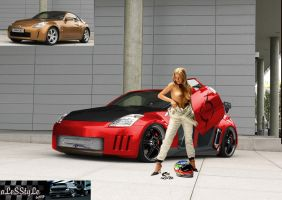 Nissan 350Z by Alesstyle by TheAlessandro