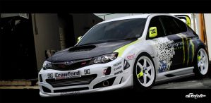 Subaru Impreza DC-Shoes by Saporita