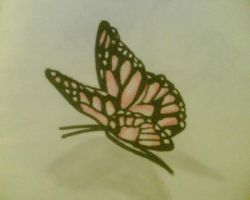 Butterfly Tattoo by AmyLou31