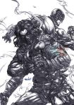 Winter Soldier (pencils) by emmshin
