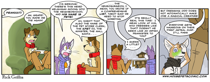 King of Housepets - Home For Christmas by RickGriffin