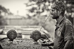 Mud, mud and a little bit more mud IV by luca1984