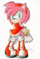 .:: Amy Rose by ShadowSinty