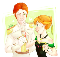 Frozen: We finish each other's Sandwiches by Morisaurus