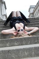 Blond bombshell stock 39 by Random-Acts-Stock