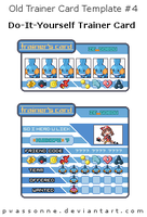 Old Trainer Card Template 4 by pwassonne