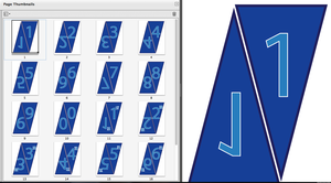 Doctor Who Do-It-Yourself Party Flags- Numbers by RudeAndGinger