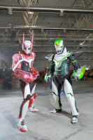 Tiger and Bunny - Romics2014 by SilviaArts