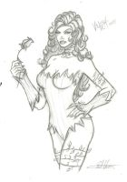 Poison Ivy quick sketch by RV1994