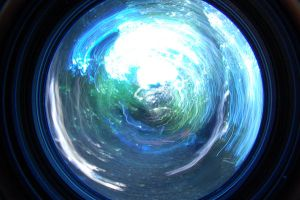 The Wormhole Fish Eye by lucie-lubot