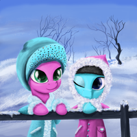 Winter with Aloe by idontrunntoofast