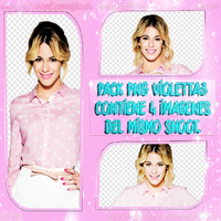 Pack Png Violetta by Joshii-Editions