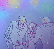 UMAP - Family Fireworks by MidoriEyes