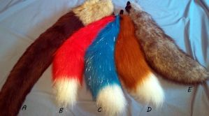 Tails for sale! by ScratchKitty