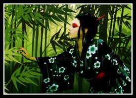Bamboo Tale by hinnie